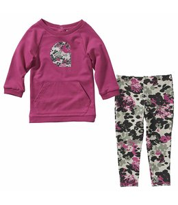 Carhartt Girl's Infant 2 Piece Printed Legging Set CG9738