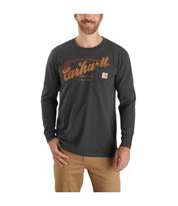 Carhartt Men's Relaxed Fit Heavyweight Long-Sleeve Pocket Graphic T-Shirt 104435