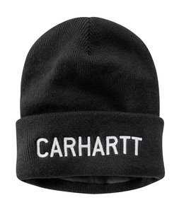Carhartt Women's Knit Fleece-Lined Graphic Beanie 104540