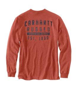 Carhartt Men's Original Fit Heavyweight Long-Sleeve Pocket Rugged Workwear Graphic T-Shirt 104433
