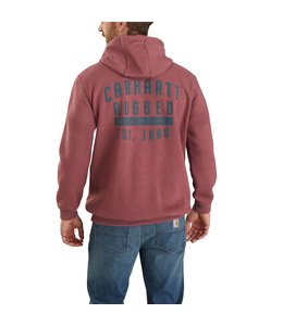 Carhartt Men's Original Fit Midweight Hooded Rugged Workwear Graphic Sweatshirt 104442