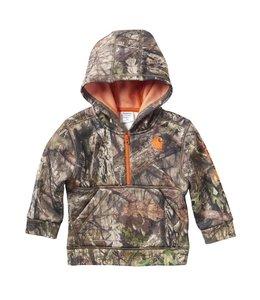 Carhartt Boy's Toddler Camo Half Zip Sweatshirt CA8986
