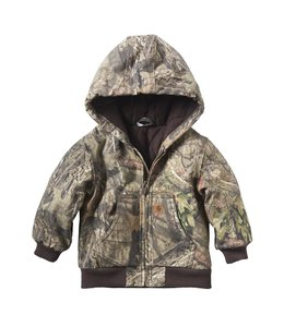 Carhartt Boy's Infant/Toddler Flannel Quilt-Lined Camo Active Jacket CP8536