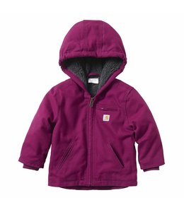 Carhartt Girl's Infant/Toddler Sherpa Lined Sierra Jacket CP9553