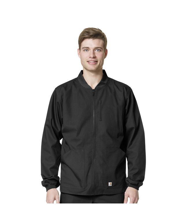 Carhartt Men's Ripstop Zip Front Scrub Jacket C84108A