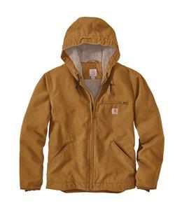 Carhartt Men's Washed Duck Sherpa Lined Jacket 104392