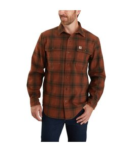 Carhartt Men's Original Fit Flannel Long-Sleeve Plaid Shirt 104451
