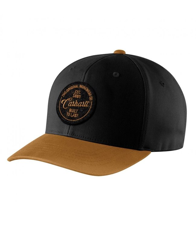Carhartt Men's Rugged Flex Fitted Canvas Built to Last Cap 104489