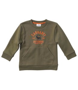 Carhartt Boy's Infant Long Sleeve Crewneck Graphic Fleece CA6130
