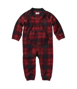 Carhartt Boy's Infant Plaid Fleece Coverall CM8695