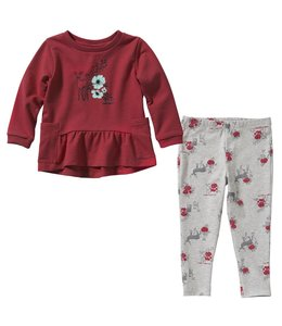 Carhartt Girl's Infant 2-Piece Printed Legging Set CG9743