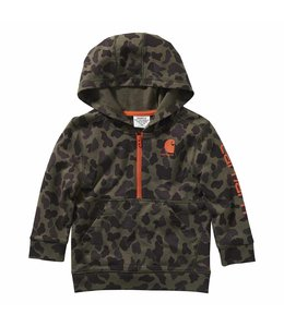Carhartt Boy's Infant/Toddler Camo Half Zip Sweatshirt CA6116
