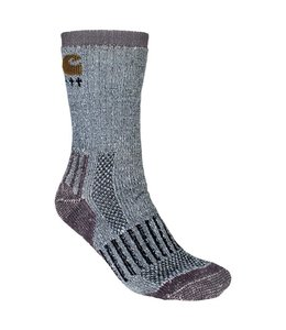 Carhartt Women's All-Terrain Crew Sock 2 Pack CHWA2802C2