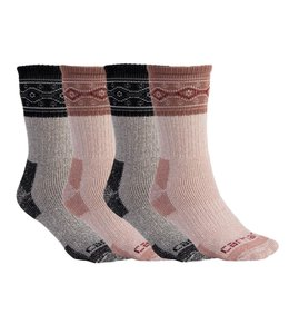 Carhartt Women's Cold Weather Crew Sock 4 Pack WA685-4