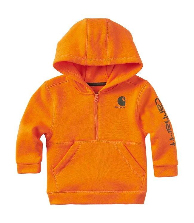 Carhartt Boy's Infant/Toddler Half Zip Sweatshirt CA8871