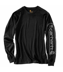 Carhartt Men's Relaxed Fit Midweight Long-Sleeve Logo Graphic T-Shirt 104536