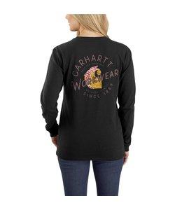 Carhartt Women's Original Fit Heavyweight Long Sleeve Rosie Graphic T-Shirt 104524