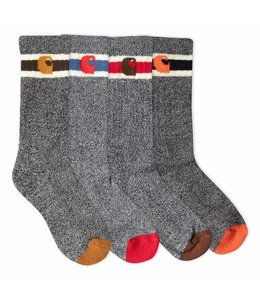 Carhartt Boy's Camp Crew Socks 6-Pack BA0014-6