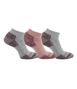 Carhartt Women's Cotton Low Cut Sock 3 Pack WA262