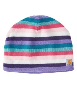 Carhartt Girl's Multi Stripe Hat Fleece Lined CB8966