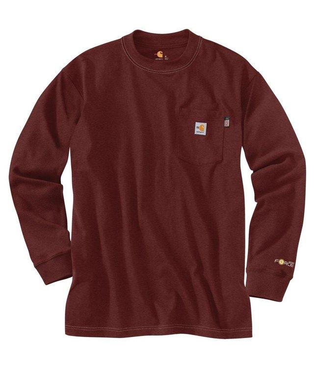 Carhartt Men's FR Force Original Fit Long-Sleeve Graphic T-Shirt 104509