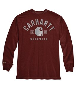 Carhartt Men's FR Force Original Fit Long-Sleeve Graphic T-Shirt 104509