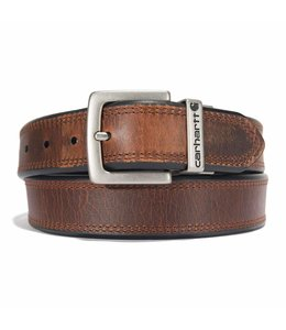 Carhartt Men's Brown/Black Reversible Belt A0005500