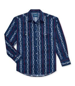 Wrangler Men's Western Checotah Shirt MC1267M