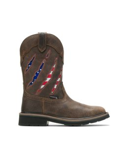 Wolverine Men's Rancher Claw Flag Wellington W200138