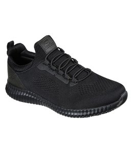 Skechers Men's Work Relaxed Fit: Cessnock SR 77188W BLK
