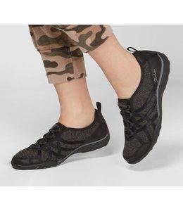 Skechers Women's Relaxed Fit: Breathe Easy - Swing High 100217 BLK