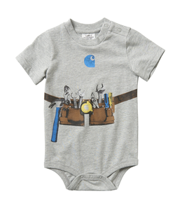 Carhartt Boy's Infant Toolbelt Graphic Bodyshirt CA6061
