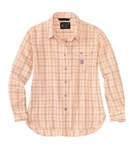 Carhartt Women's Loose Fit Lightweight Plaid Shirt 104758