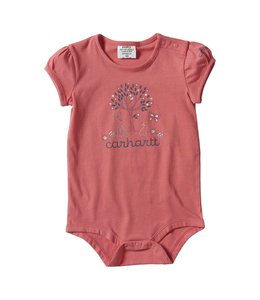 Carhartt Girl's Infant Forest Friends Graphic Bodyshirt CA9814