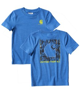 Carhartt Boy's Toddler Outfish Them All Heather Graphic T-Shirt CA6180