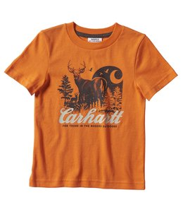Carhartt Boy's Toddler Rugged Outdoor Graphic Tee CA6168