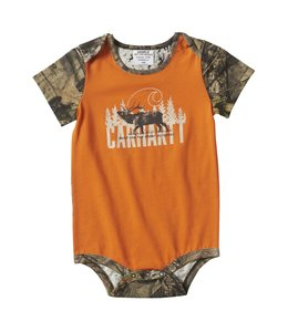Carhartt Boy's Infant Camo Elk Bodyshirt CA6164