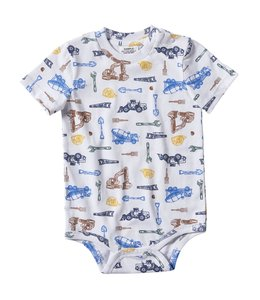 Carhartt Boy's Infant Worksite Printed Bodyshirt CA6166
