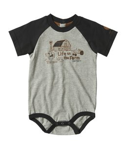 Carhartt Boy's Infant On The Farm Bodyshirt CA6162
