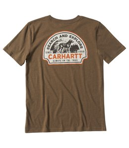 Carhartt Boy's Search And Explore Heather Graphic T-Shirt CA6159