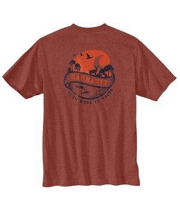 Carhartt Men's Loose Fit Heavyweight Short-Sleeve Pocket Woods Graphic T-Shirt 104797
