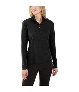 Carhartt Women's Force Delmont Quarter-Zip Shirt 103597
