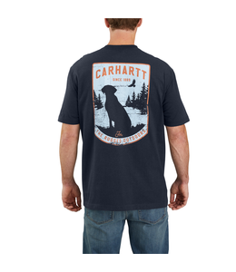 Carhartt Men's Original Fit Heavyweight Short Sleeve Pocket Dog Graphic T-Shirt 104179