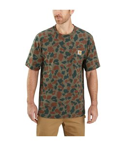 Carhartt Men's Original Fit Heavyweight Short Sleeve Pocket Camo T-Shirt 104573