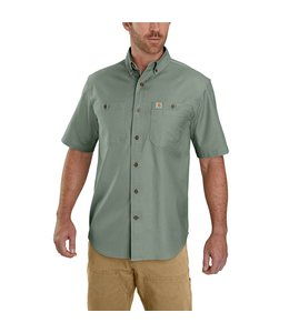 Carhartt Men's Rugged Flex Rigby Short-Sleeve Work Shirt 103555