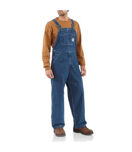 Carhartt Men's Washed Denim Unlined Bib Overall R07