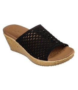 Skechers Women's Beverlee - Golden Sky Sandal 32954 BLK