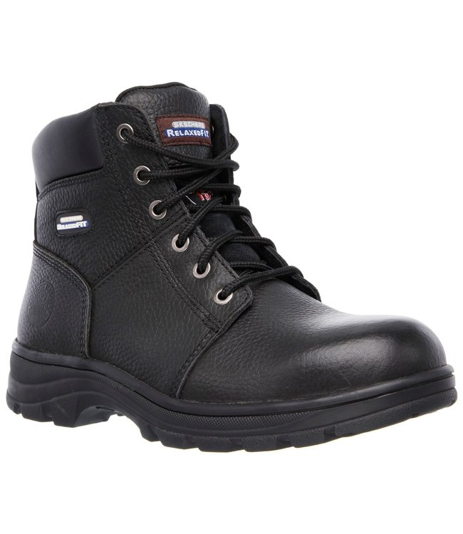 Skechers Men's Work: Relaxed Fit - Workshire ST 77009 BLK