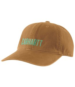 Carhartt Men's Canvas Full Back Carhartt Graphic Ball Cap 104188