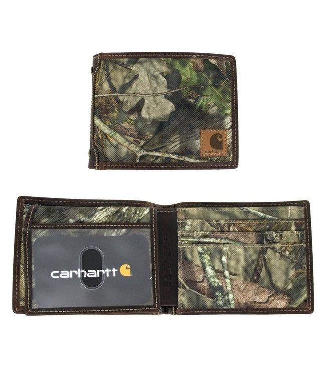 Carhartt Camo Canvas Passcase Wallet B0000226